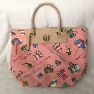 Dooney & Burke Tote.  Never carried, like new.